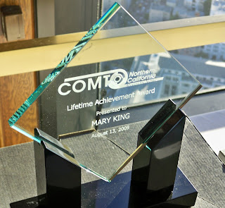 AC Transit Assistant GM Mary King's Lifetime Achievement Award from COMTO