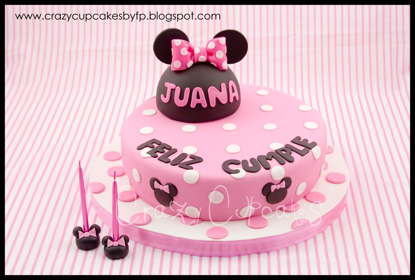 Torta Minnie Mouse Para Juana