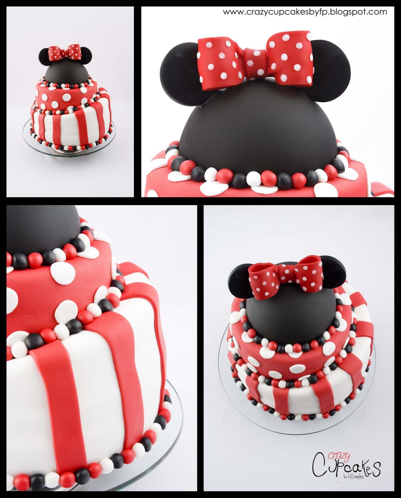 Torta Minnie para Candela