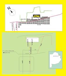 Mapa a Miklavec Rodados