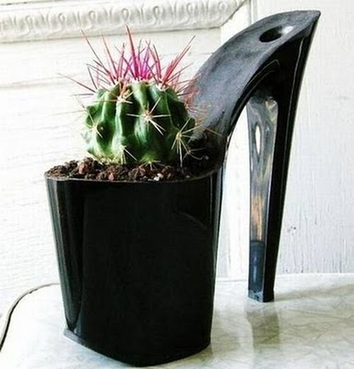 Creative Shoe-Pots Seen On www.coolpicturegallery.us