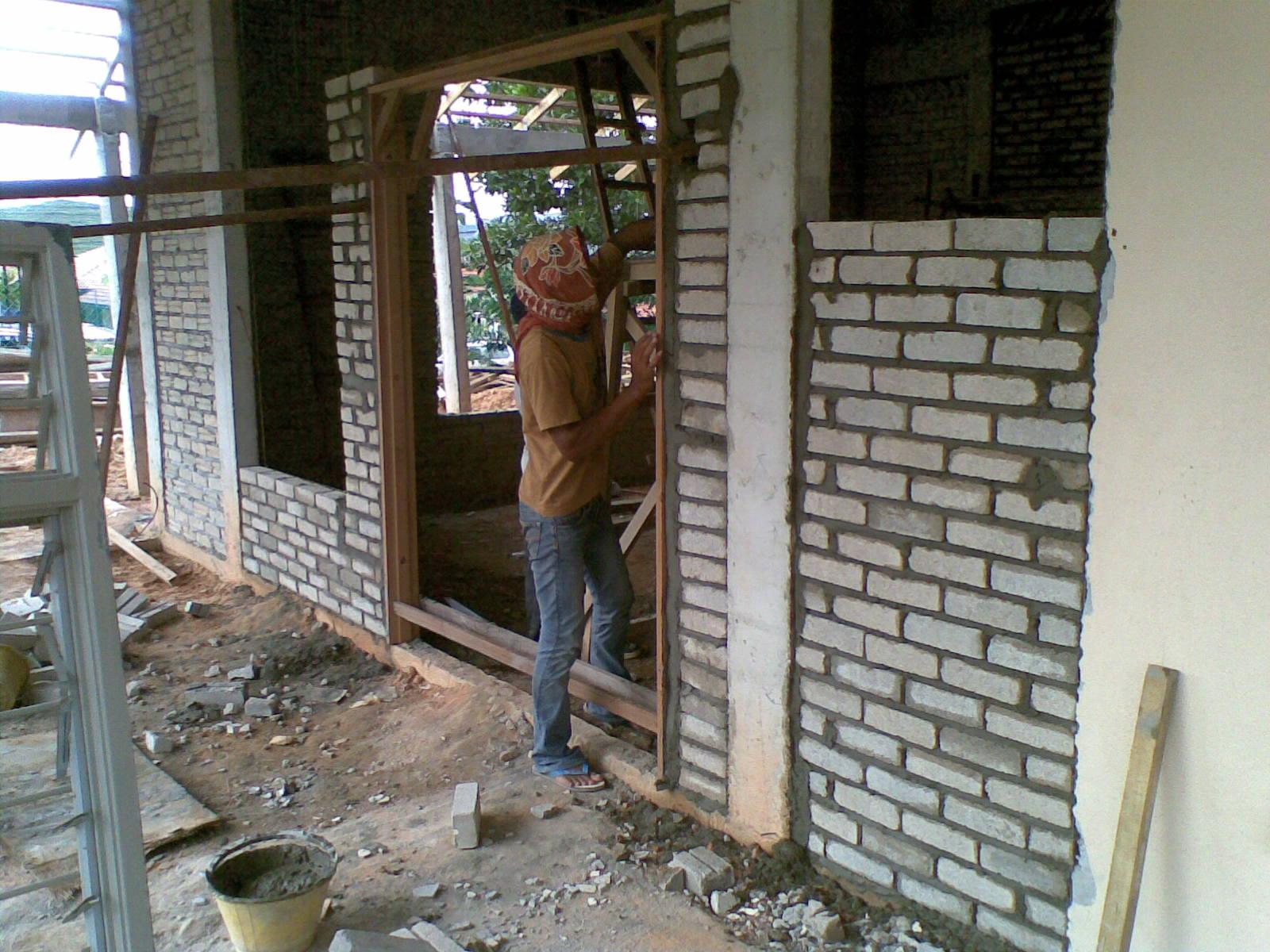 Door Frame Installation : Goblin resources main entrance door frame installation