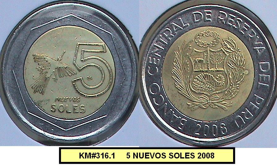 NUEVOS SOLES (1994 - a la fecha)