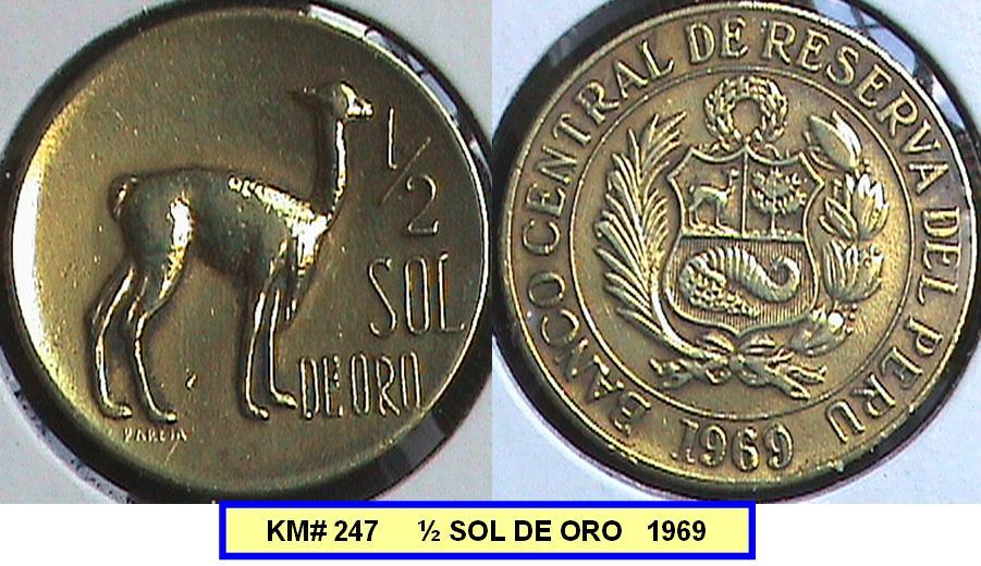 1/2 sol de oro de 1969, no logro identificarlo... ¿Ayuda? MEDIO+SOL+DE+ORO+1969