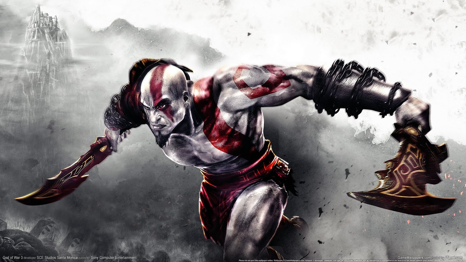 Badass Wallpapers God Of War