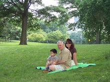 Jayden, Paw, Umma - Central Park