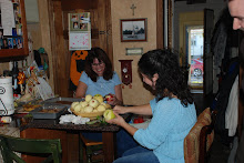 Me & Lori making apple pies