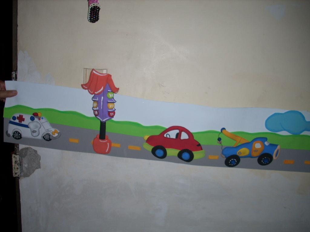 CREATIVIDAD EN LINEA: Cenefas para cuartos de niños