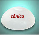 implante de formato cônico