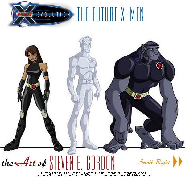 X Men Evolution Characters Profiles X Men Evolution Charac...