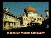 Indonesian Moslem Coomunity