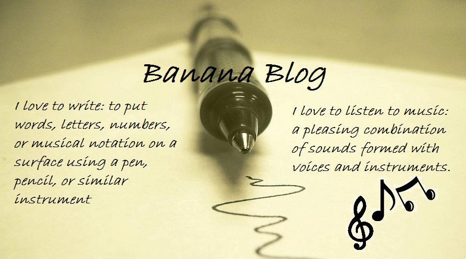 Banana Blog