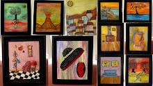 Collage - Primera Muestra de Pintura 2011