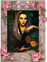 Cigana e as flores