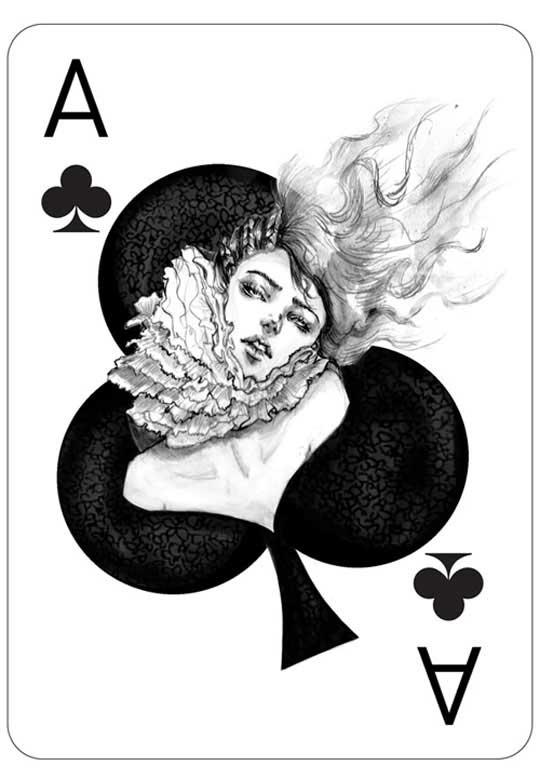 Обои игральные карты