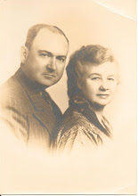 Ralph Herbert Penley and Edna Louise McMillain -25th Anniversay - Maternal Grandparents