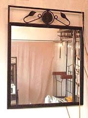 Espejos Marco de Hierro
