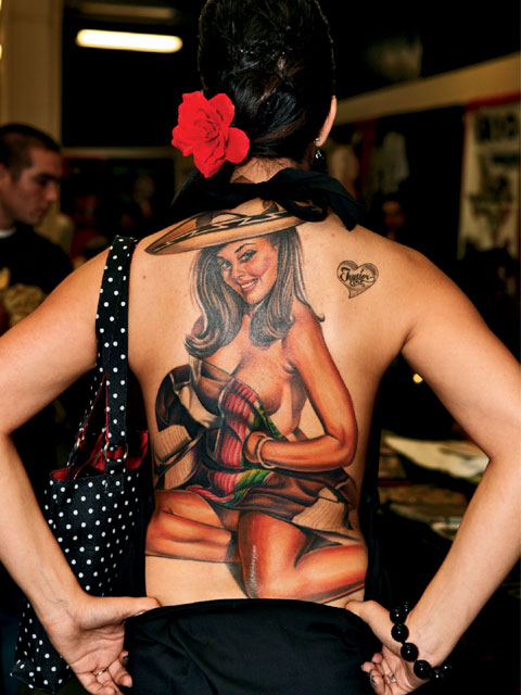 Best Back Body Women's Tattoo for Women's