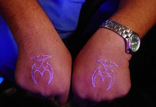 White tattoo with black light tattoo ink - White tattoo 18