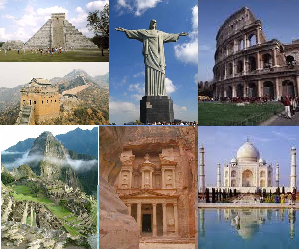 Seven Wonders of the world 2010: The Seven Wonders of the ...