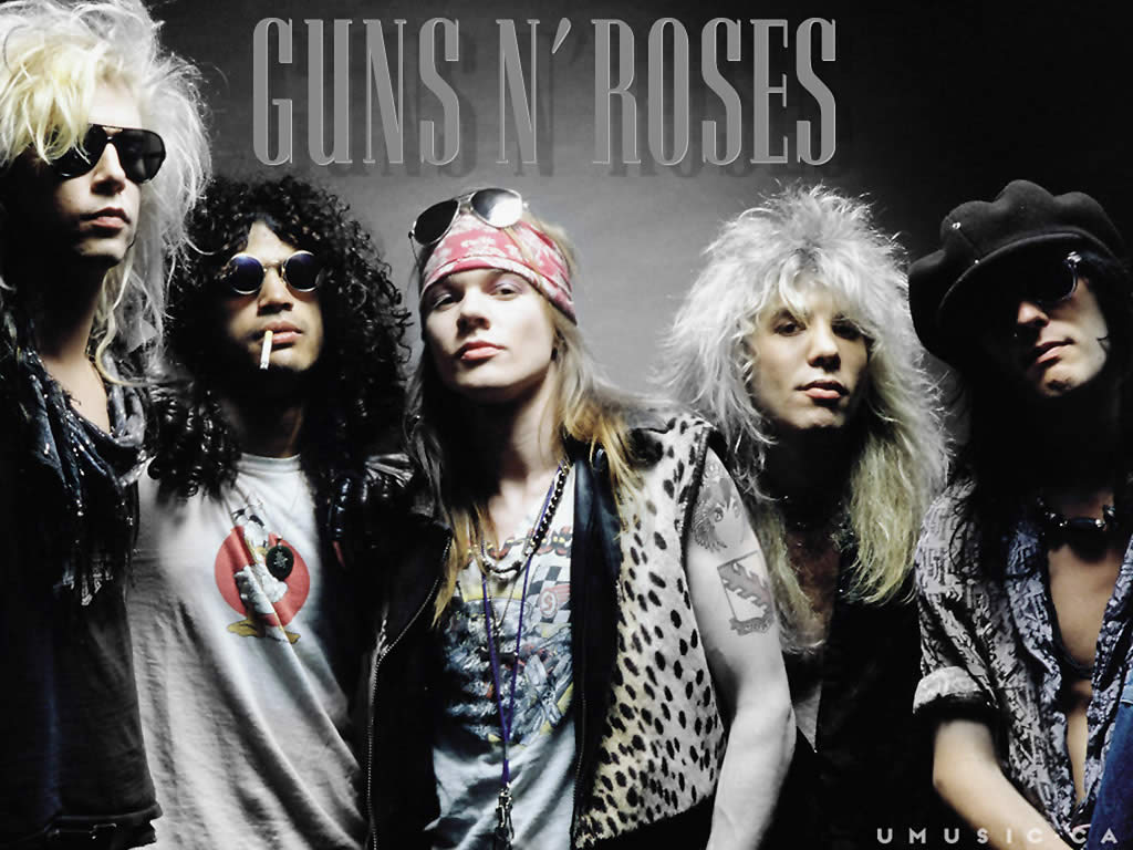 guns and roses soundtrack