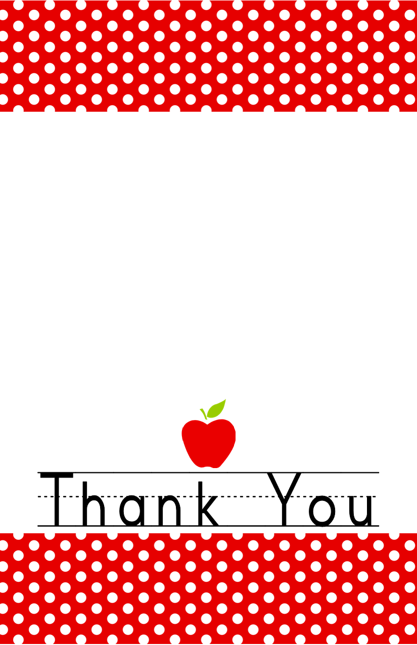 Crazy image throughout printable thank you card