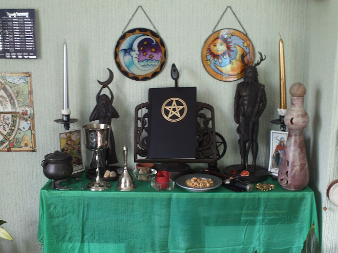 MY WICCAN ALTAR