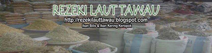 Ikan Bilis dan Ikan Kering Keropok Tawau