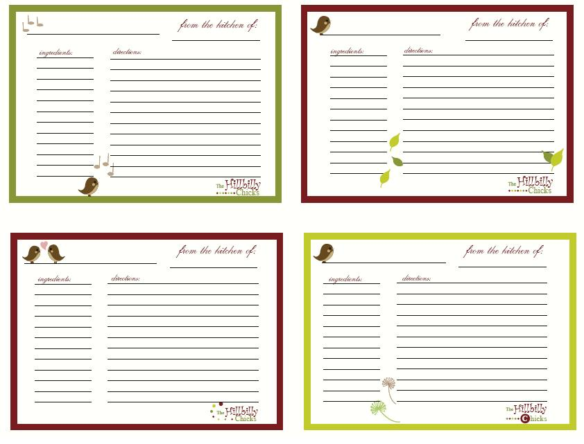 Recipe Cards And Box Recipe Boxes For Index Cards