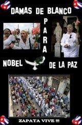 Campaña en Facebook para Nominar a las Damas de Blanco al Premio Nobel de la Paz