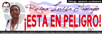 Amnistia internacional con Reyna Luisa Tamayo.