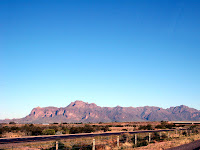 The Superstition Mountains in Apache Junction