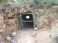 An abandoned clay mine in North Phoenix