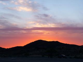 Phoenix Arizona Sunset June 5, 2009