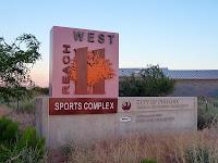 Entrance to Reach 11 Recreation Area