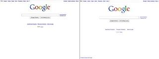 Google 2010 Redesign