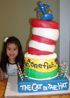 Fia's 4th Birthday Cake made by Ba & Lauren
