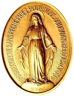 Anverso Medalla Milagrosa