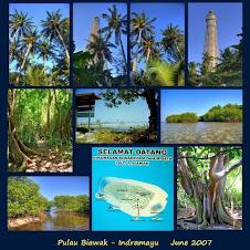 Selamat Datang di Obyek Wisata Pulau Biawak Indramayu
