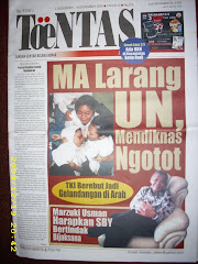 Tabloid ToeNTAS News Minggu Lalu