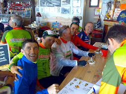 En el bar del Tourmalet