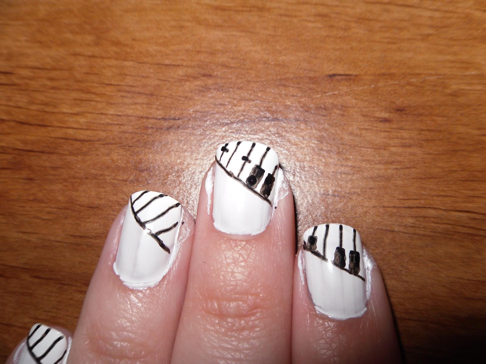 Nail Polish On Piano Keys Hession Hairdressing