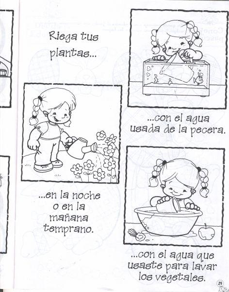 Dibujos de como cuidar el agua - Imagui