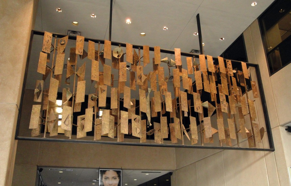 Root Of The Problem A Harry Bertoia Screen Sculpture Is
