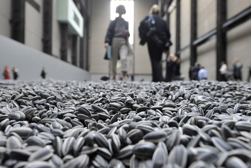 Root of the Problem: Artist: Ai WeiWei Ai Weiwei Sunflower Seeds