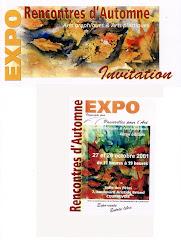 2001 - Exposition à Courbevoie