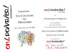 2002 - Exposition Oh! Poivrier... Paris