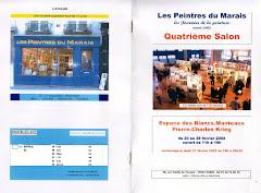 2002 - 4ème salon des Peintres du Marais