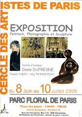 2005 - Exposition C.A.P. au Parc Floral de Paris