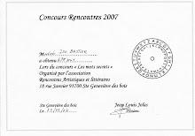 Concours de l'Île des poètes 2007